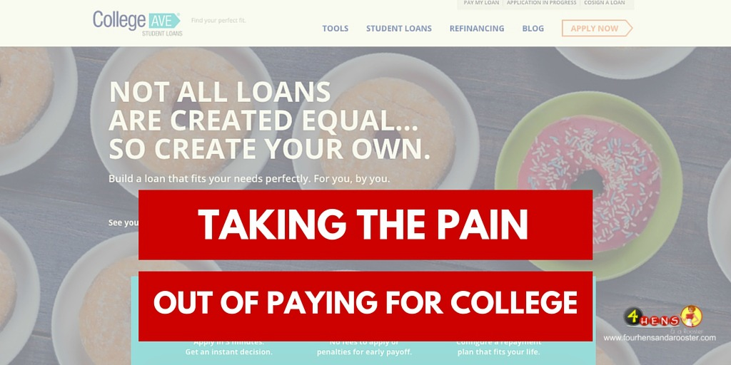College is expensive. College Ave Student Loans is helping make the burden a lot easier!