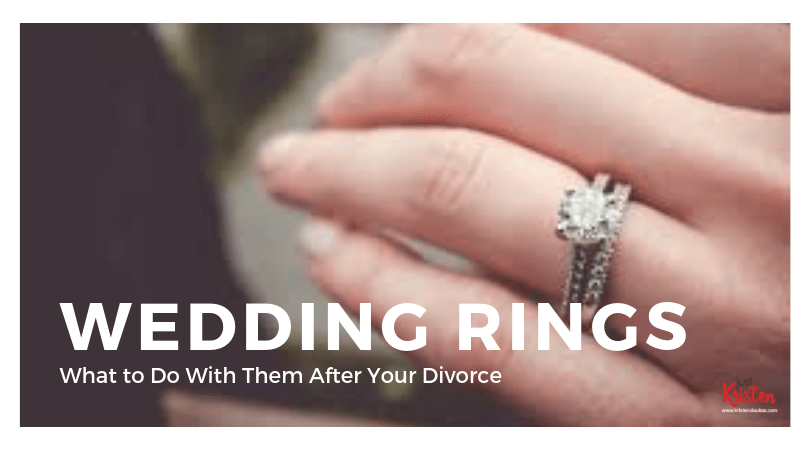 What to do with your wedding rings after divorce