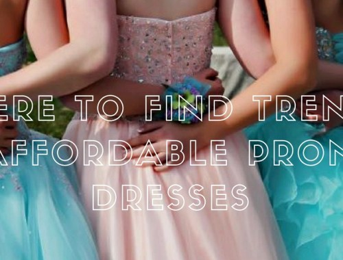 Where to find affordable prom dresses