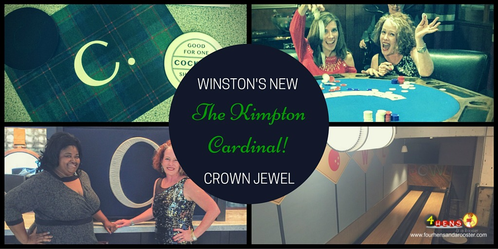 Looking for the best boutique hotel in Winston-Salem? It's the Kimpton Cardinal!