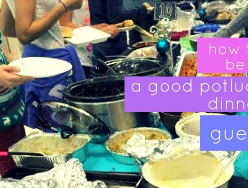 How to not gross people out at a potluck