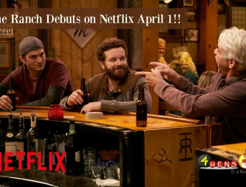 The Ranch debuts on Netflix April 1!