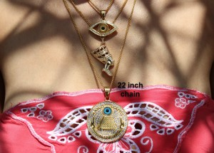 22 Inch Gold Plated Chain
