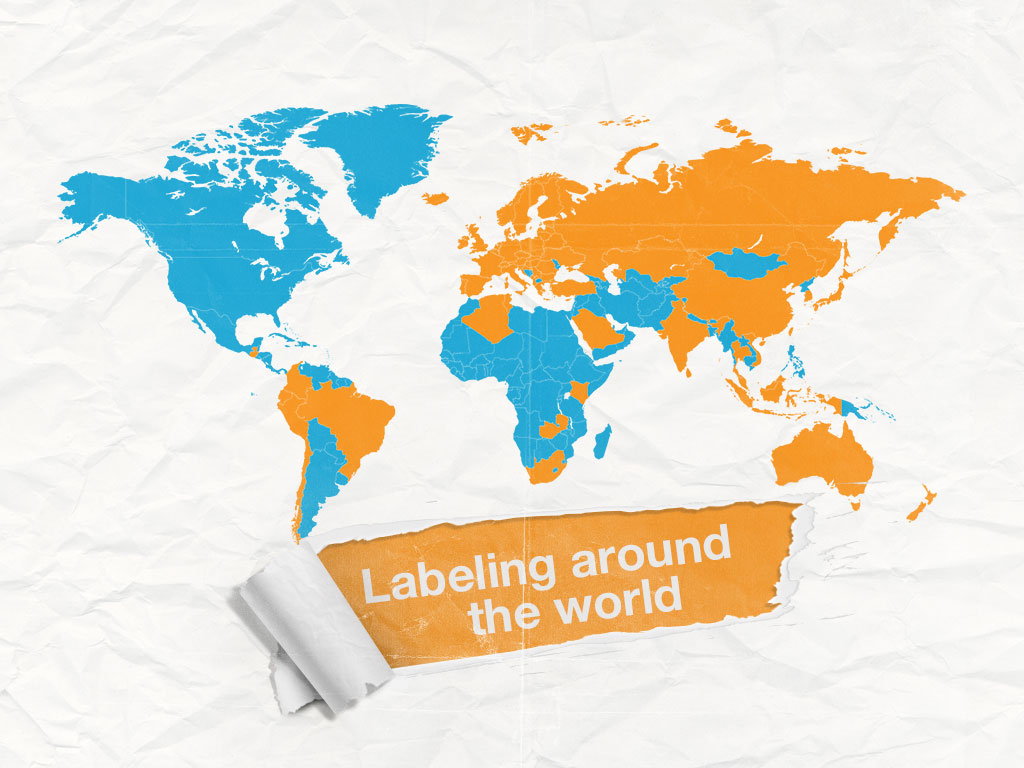 Labeling Around The World