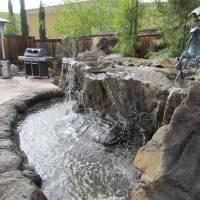 Backyard Water Features, Pond Waterfalls, & Swimming Pool ...