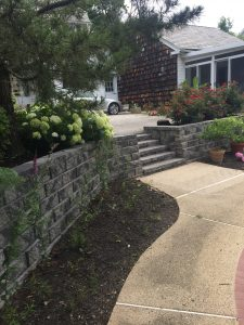 Retaining Wall Construction In Ellicott City Catonsville Columbia MD Sitting Walls