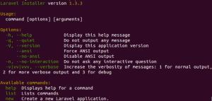 Installing Laravel