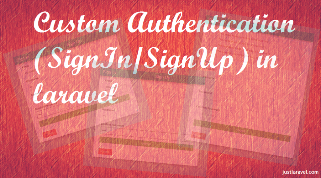 Custom Authentication with validation in laravel