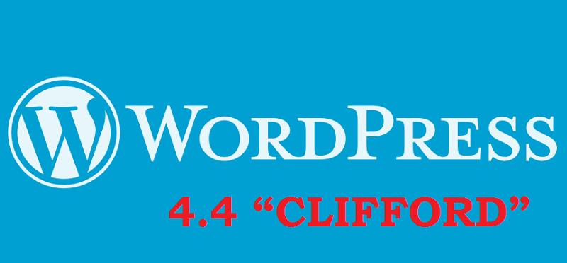 Whats New WordPress 4.4