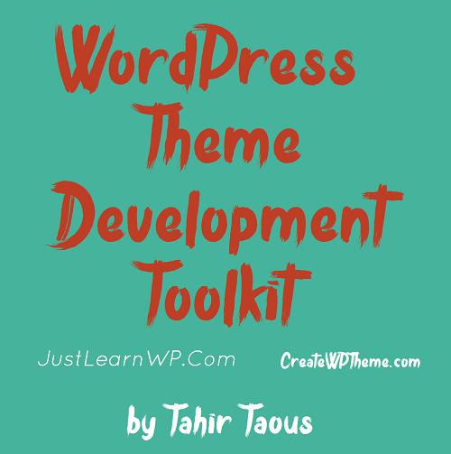 fre book WordPress Theme Development Toolkit