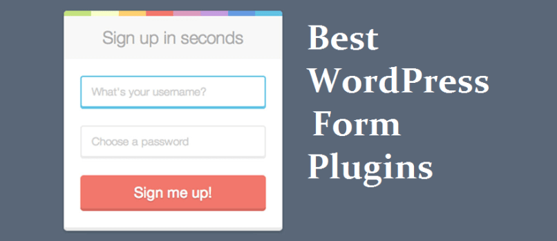 Best WordPress Contact Form Plugins 2017 2018