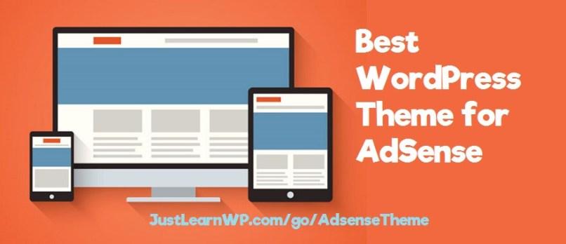 Best WordPress Theme for AdSense