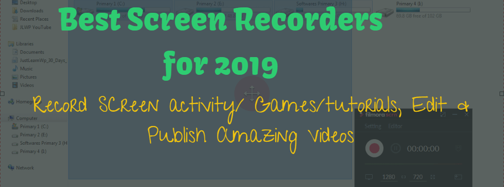 Best Paid Free Screen Recorders for 2019
