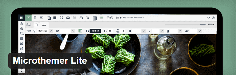 Microthemer Lite WordPress Theme Editor Plugin