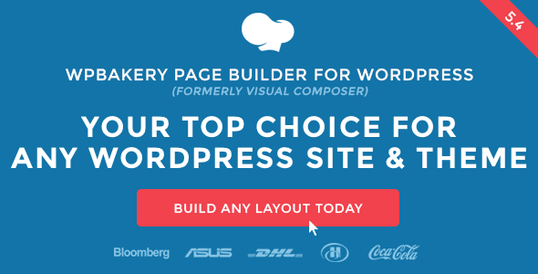 visual Composer WordPress page builder plugin.