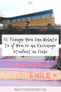 Thirty Things You Can Relate to if You're Studying Abroad in Chile
