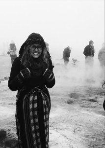 Standing at the Geysers in the Atacama Desert | Where Should I Study Abroad? How I Chose to Study Abroad in Chile