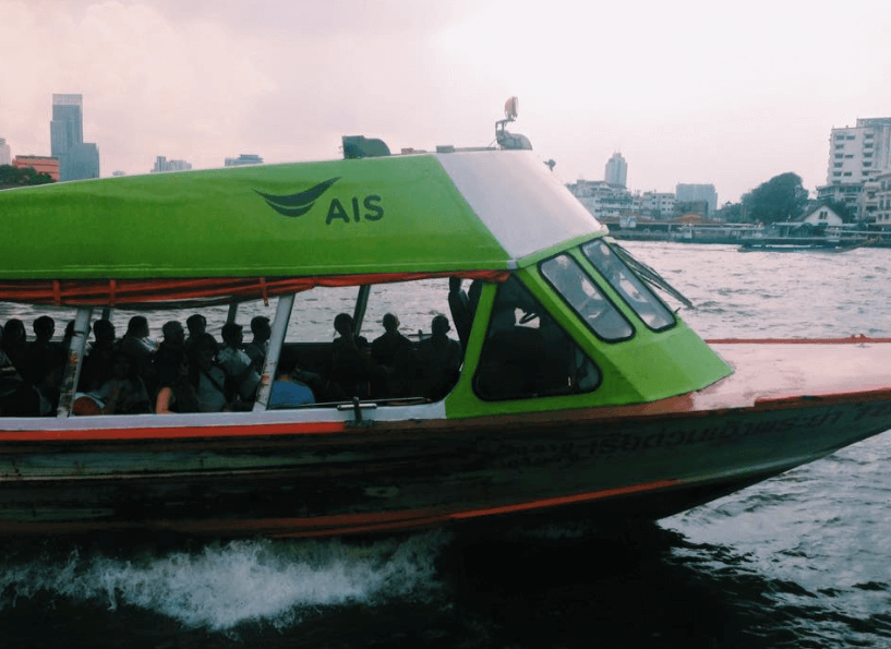 Ride a Water Taxi in Bangkok