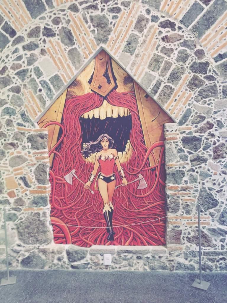 Wonder Woman Exhibit at the Museo Mexicano del Diseño