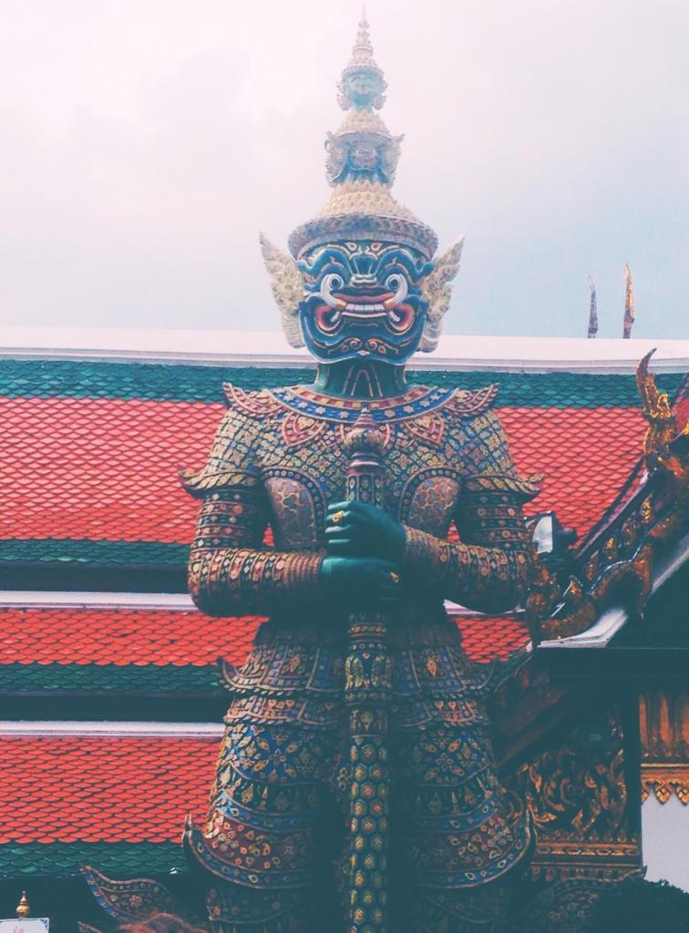 Statue at King's Palace Bangkok