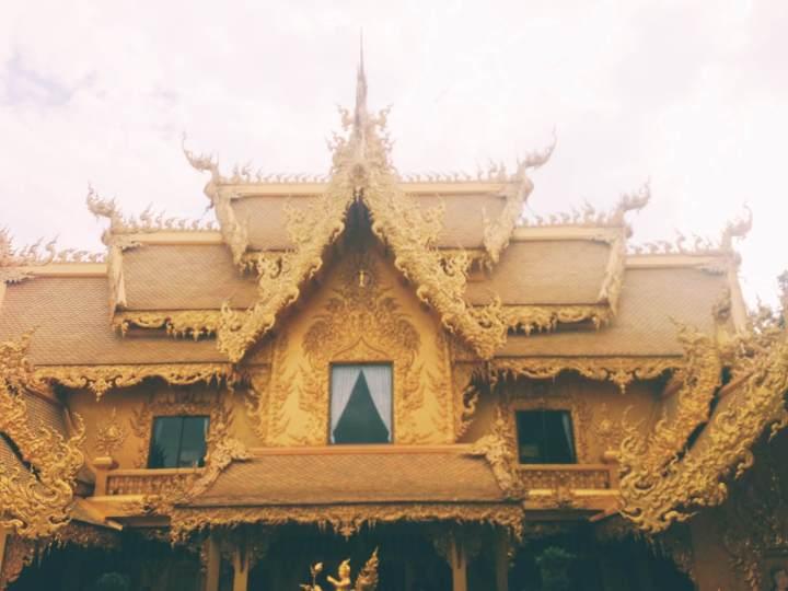 Golden Temple in Chiang Rai