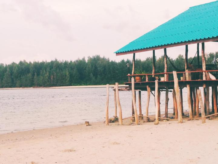 Photo of a Beach Shack in Thailand