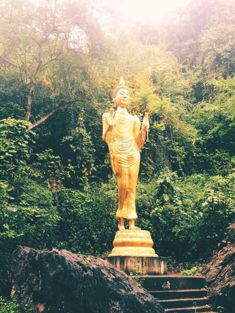 Go to Thailand | Buddha Statue in Jungle