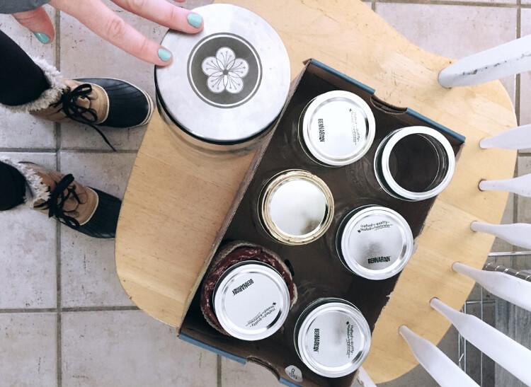 Zero Waste Kit including box and jars