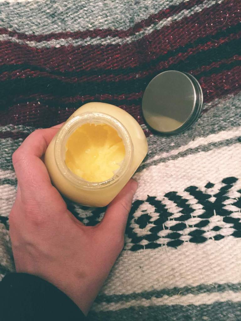 Handmade DIY Zero Waste Lotion for Colds and Flu
