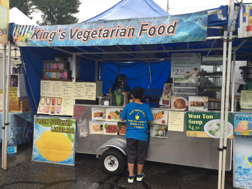 King's Asian Veggie Food Stall