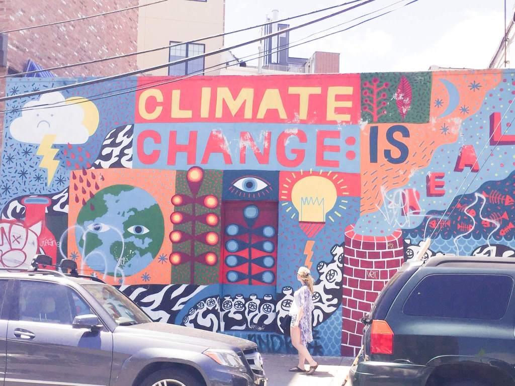 Climate Change is Real | Bushwick Street Art