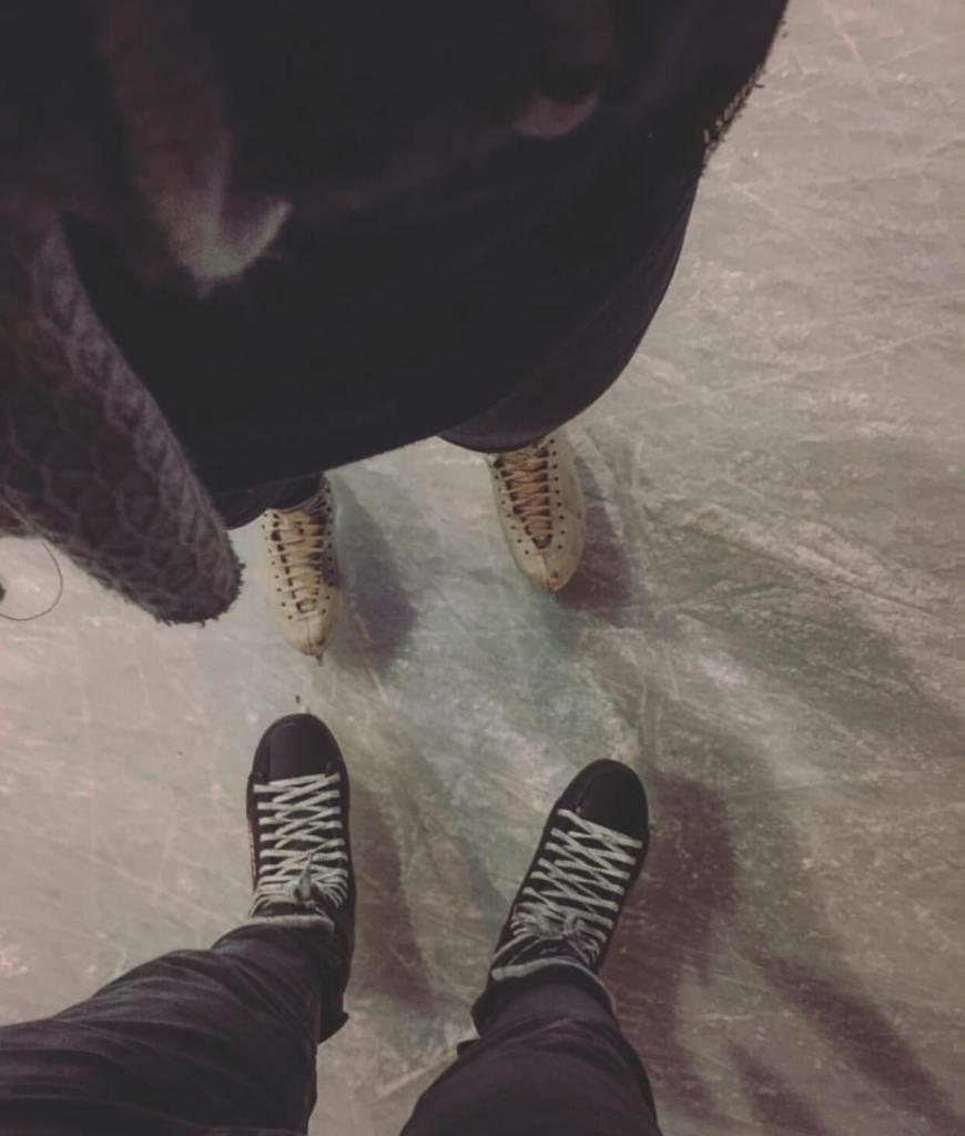 Ice Skating in Downtown Kelowna
