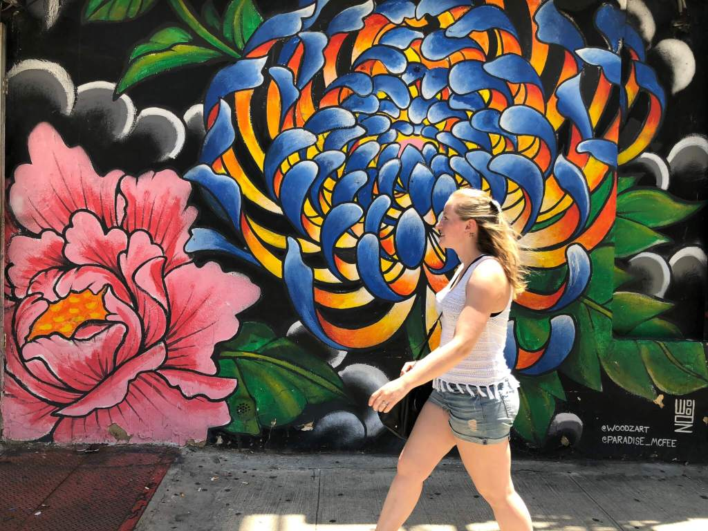Our NYC Honeymoon: A 4 Day NYC Itinerary | Bushwick Collective Street Art