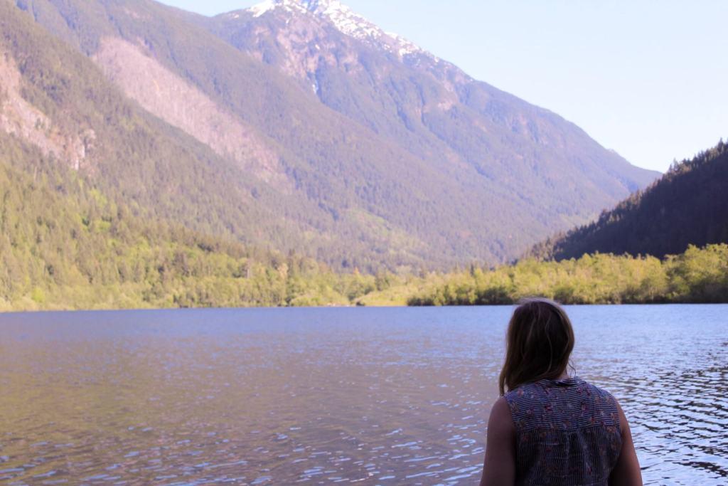 Camp at Silver Lake in Hope BC