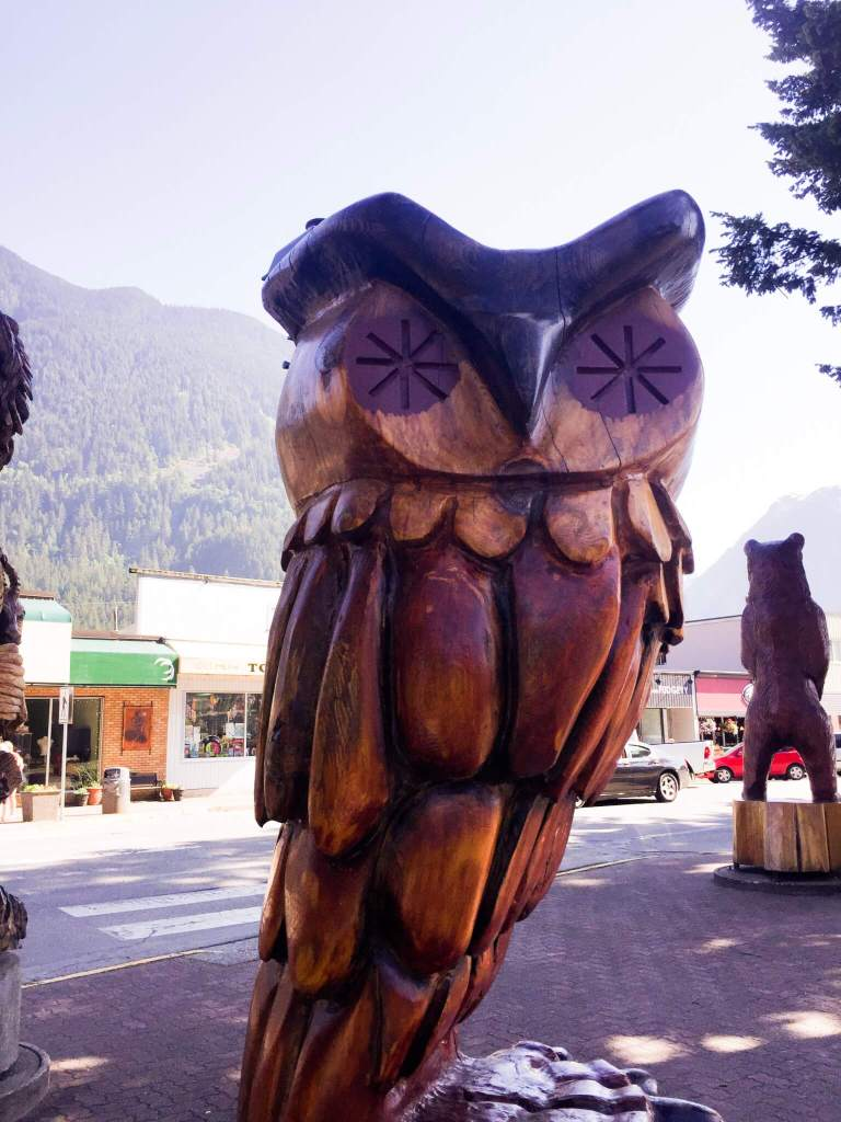 Camping in Hope BC, Canada: Why You Should Camp at Silver Lake | Wooden Owl Sculpture