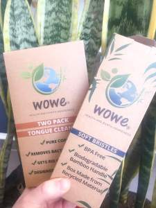 Plastic Free Oral Health with Wowe Lifestyle Products: Toothbrush & Tongue Scraper Product Review