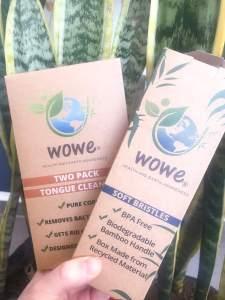Sustainable Toothbrush | Plastic Free | Bamboo