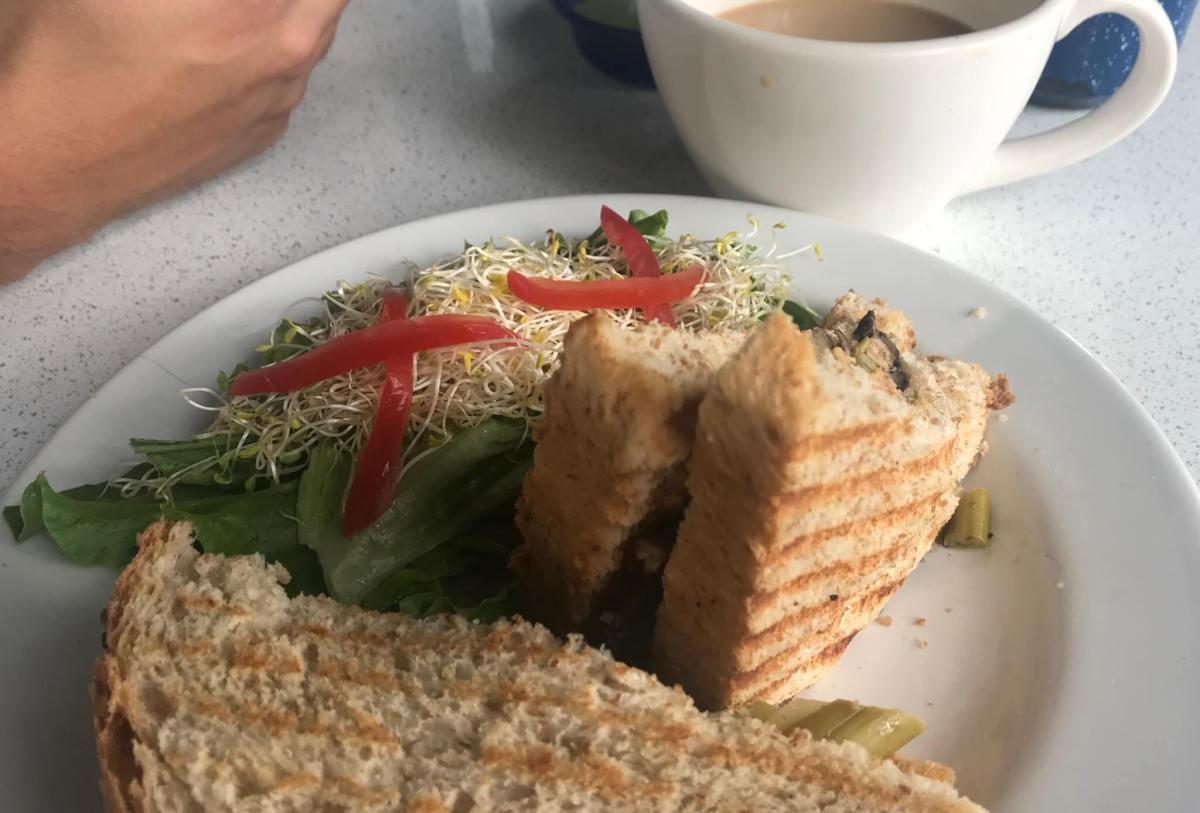 Peltre Sandwich   Vegan Restaurants in Mexico City