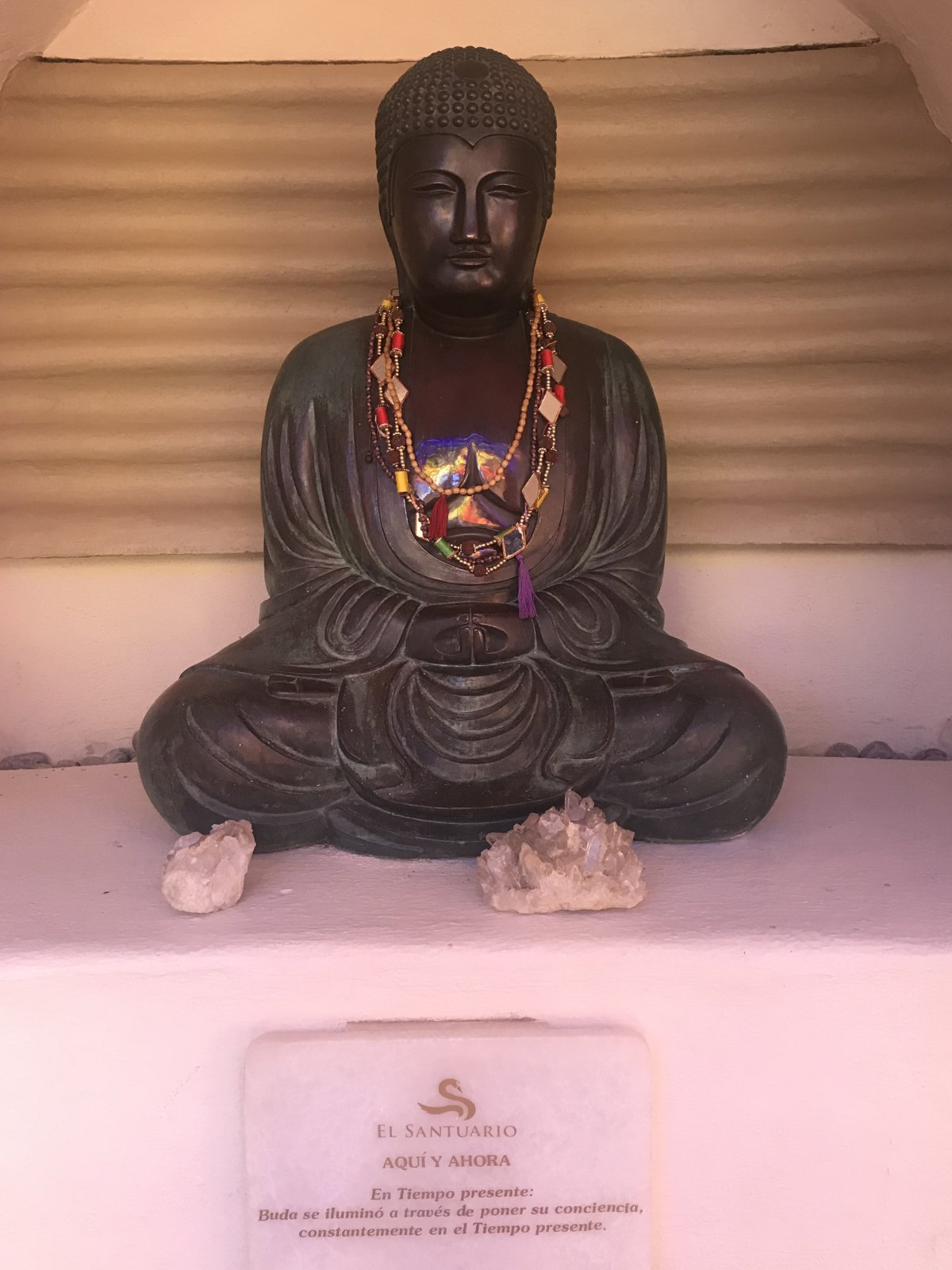 Buddha statue at El Santuario Resort and Spa | Hotels in Valle de Bravo