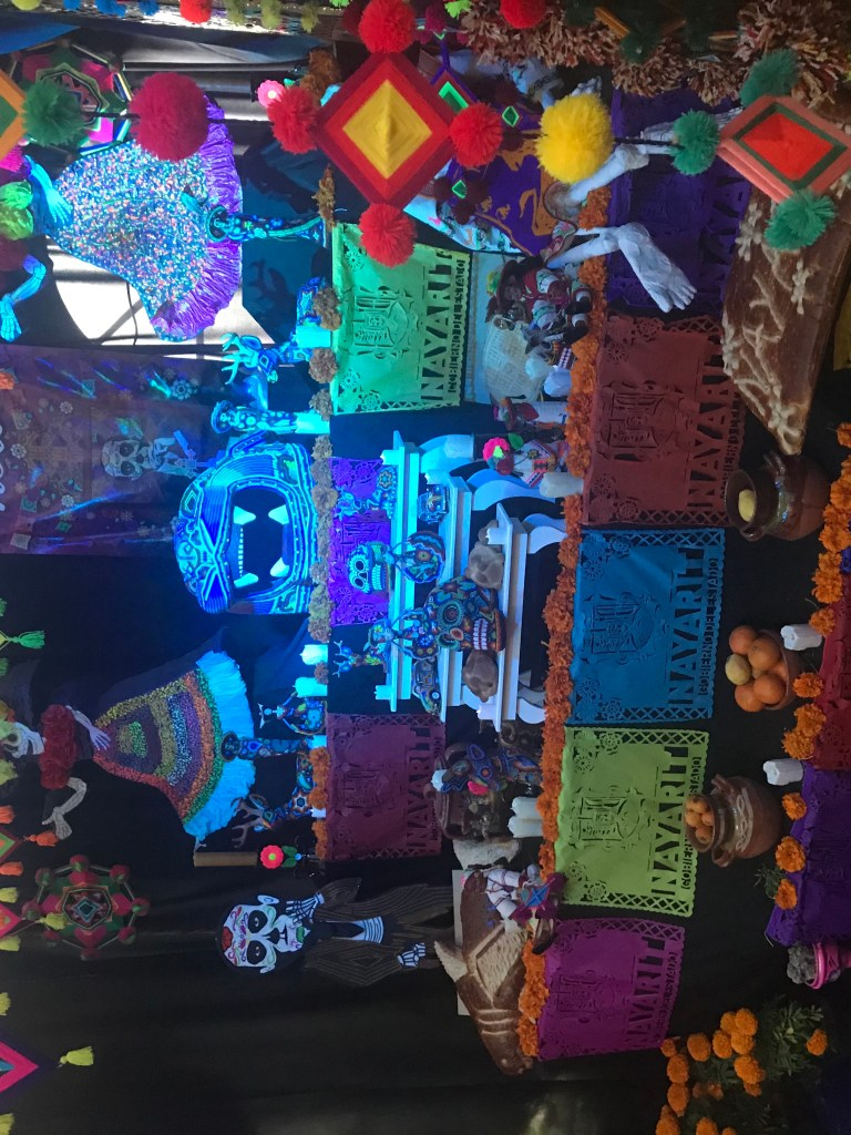 Ofrenda in Coyoacán, Mexico City for Day of the Dead