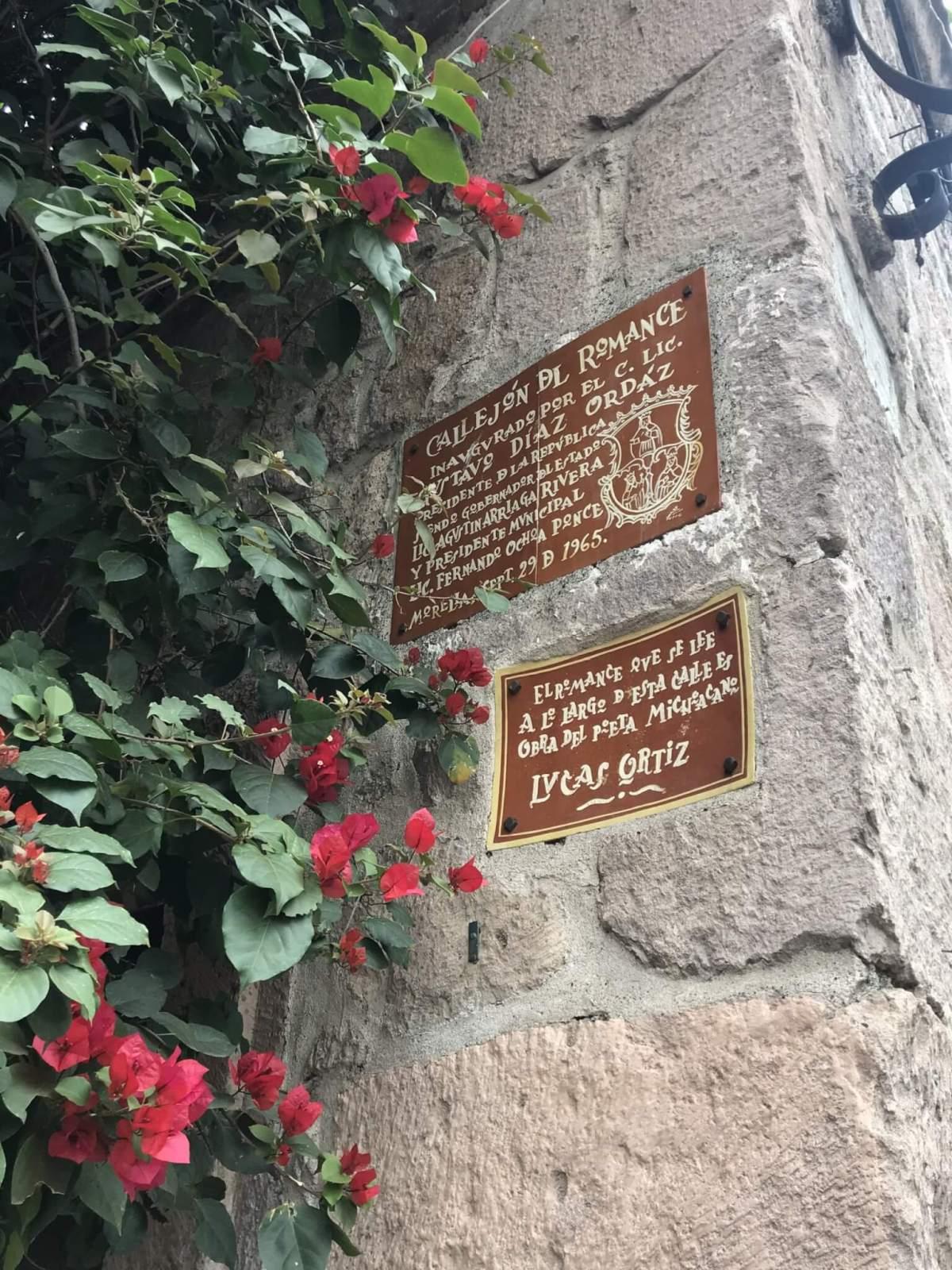 Callejon del Romance in Morelia | Love Poem