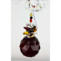 crystal ball chandelier suncatcher - CH002