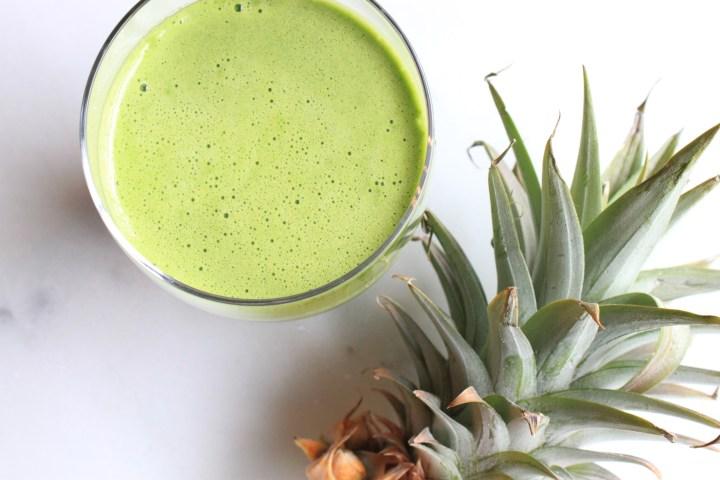 Pineapple Cucumber Juice