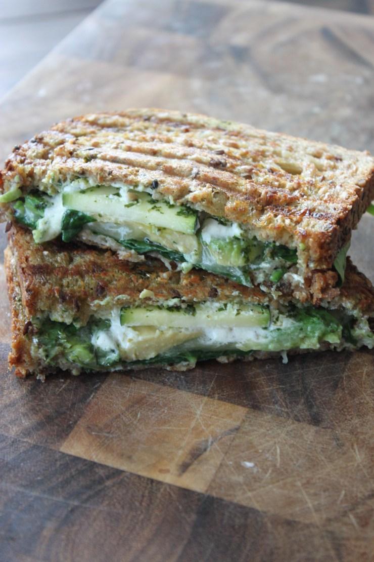 green goddess panini