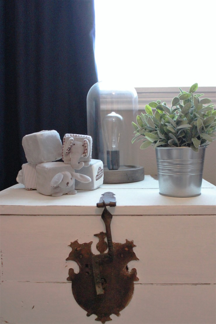 nursery side table