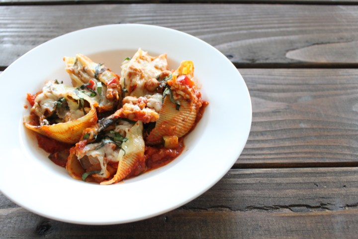 Ratatouille Stuffed Shells