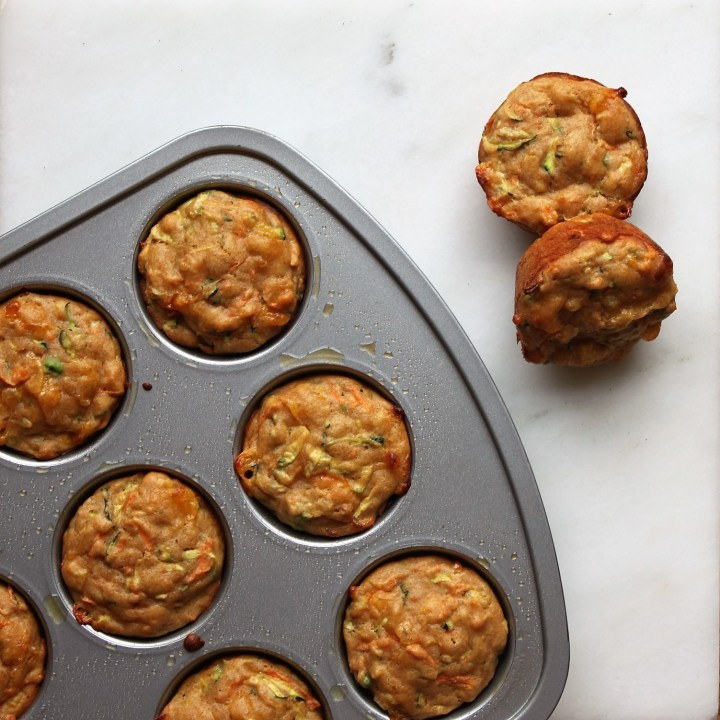 Toddler Veggie Muffins