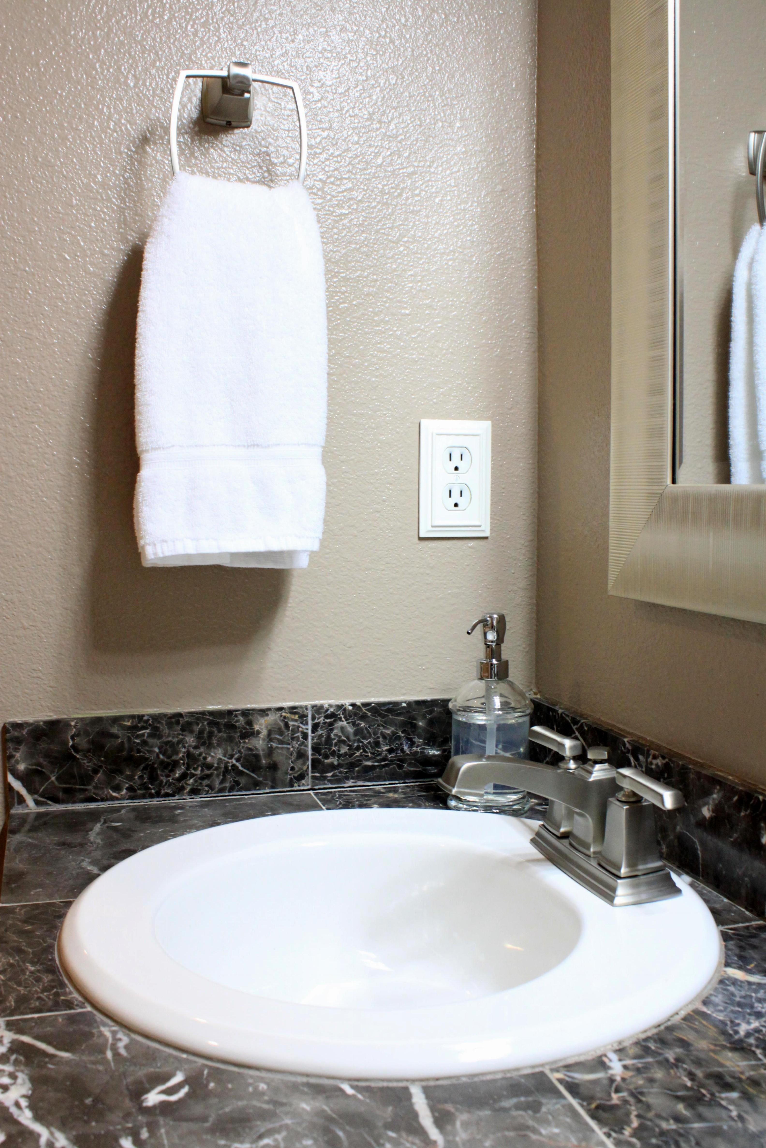 Room MakeoverMy Master Bathroom Vanity  Just Like