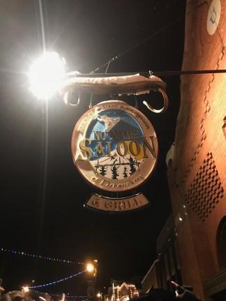 My dads favorite bar in downtown Park City, Utah