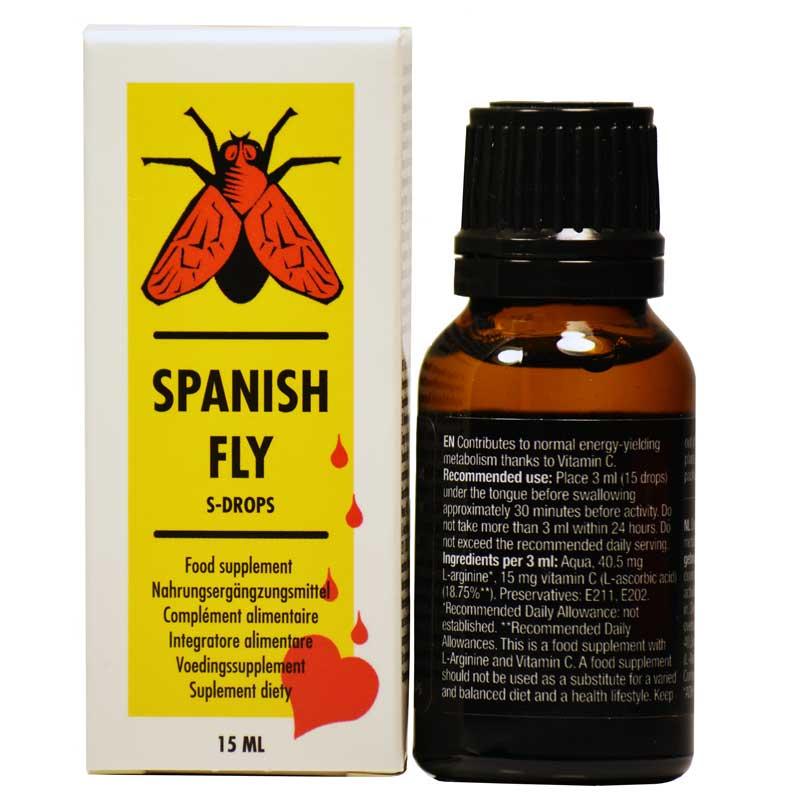 Spanish Fly - Picaturi Afrodiziace. 15 ml • Just Love